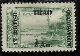 MESOPOTAMIA BRITISH OCCUPATION IRAQ 1918 1920 SURCHARGED SURCHAGE SOPRASTAMPATO 1/2a ON 5pa MLH - Iraq