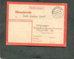 Deutsches Reich Postkarte 1944 Eilnachricht Lebenszeichen Usw - Deutschland