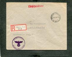 Deutsches Reich Feldpost R Brief 1940 Sokolow - Deutschland