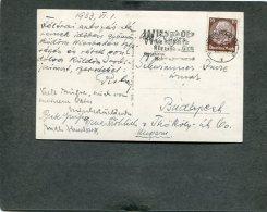 Deutsches Reich Postkarte 1933 Ef 486 - Deutschland