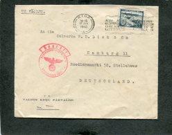 Deutsches Reich Brief Latvia 1940 - Deutschland
