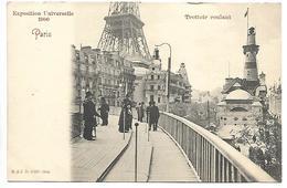 PARIS - Exposition Universelle 1900 - Trottoir Roulant - Ausstellungen