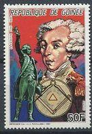 103 GUINEE 1987 - La Fayette - Masonic Franc Maconnerie Freemasonry Freimaurerei - Neuf ** (MNH) Sans Charniere - Freimaurerei