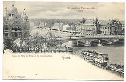 PARIS - Exposition Universelle 1900 - Palais De Ville De Paris Et De L'Horticulture - Ausstellungen