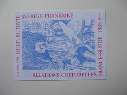 Carnet De Suède Relations Culturelles France-Suède  1994 - Carnets