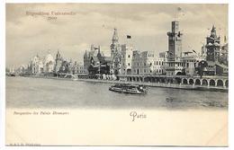 PARIS - Exposition Universelle 1900 - Perspective Des Palais Etrangers - Ausstellungen