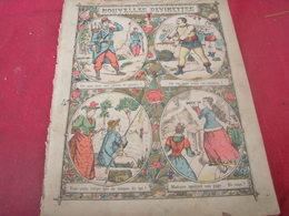 NOUVELLES DEVINETTES/ JEU DU CROQUET - Book Covers