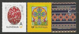 SI 2018-05 ESTER, SLOVENIA, 1 X 3v, MNH - Slowenien