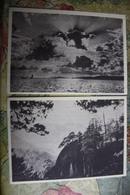 KOREA NORTH 1950s  Postcard - Yellow Sea - 2 PCs Lot - Corée Du Nord