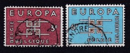 Belgie  COB° 1260-1261 - Used Stamps