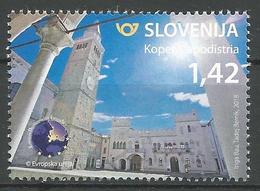 SI 2018-10 TURISAM KOPER , SLOVENIA, 1 X 1v, MNH - Slowenien