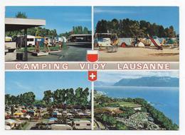 "ESTADIO - STADIUM - STADE - STADIO - STADION.- "" CAMPING DE VIDY "" .- LAUSANNE - ( SUIZA ) - Soccer"