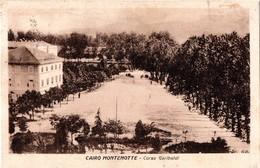 V33  CAIRO MONTENOTTE  - SAVONA  -  FP  VIAGGIATA 31.7.1924 - Savona