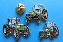 Lot De 3Pin's,Tractor,Trattore,Traktor,machine Agricole, AGRO STAR,AGRO PRIMA,AGRO XTRA - Transportation