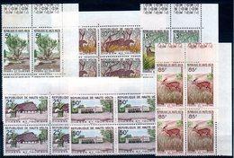 HAUTE-VOLTA - YT N° 97 à 102 Blocs De 4 Cdf - Neufs ** - MNH - Cote: 48,00 € - Upper Volta (1958-1984)