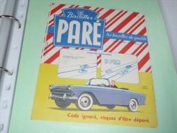 BUVARD Blotting Paper : Toulouse Buvard Biscottes Paré - Simca Oceane - 1 - - PARE- - Biscottes