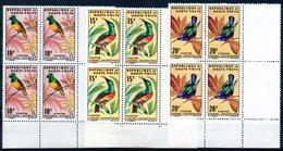 HAUTE-VOLTA - YT N° 138 à 140 Blocs De 4 Cdf - Neufs ** - MNH - Cote: 24,00 € - Upper Volta (1958-1984)