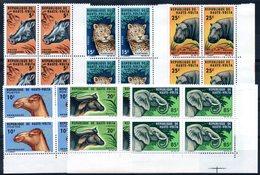 HAUTE-VOLTA - YT N° 148 à 153 Blocs De 4 Cdf - Neufs ** - MNH - Cote: 40,00 € - Upper Volta (1958-1984)