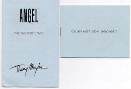 2 LIVRETS THIERRY MUGLER Angel - Parfums & Beauté