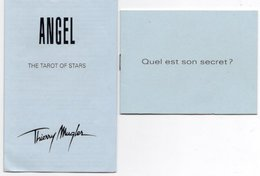 2 LIVRETS THIERRY MUGLER Angel - Perfume & Beauty