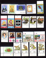 1985-88  Saint- Kitts 1985-88,  Entre Yv.  592 Et BF 13**, Cote 124 €, - St.Kitts-et-Nevis ( 1983-...)
