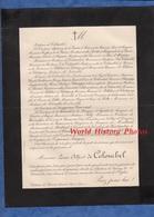 Document De 1899 - ANNET ( Seine Et Marne ) Château De Sanois - Monsieur Louis Alfred De COLOMBEL - Historische Dokumente