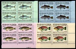 SENEGAL - YT N° 271 à 274 Blocs De 4 Cdf - Neufs ** - MNH - Cote: 24,00 € - Senegal (1960-...)