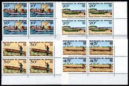 SENEGAL - YT N° 258 à 261 Blocs De 4 Cdf - Neufs ** - MNH - Cote: 18,00 € - Senegal (1960-...)