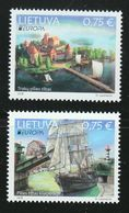 Lithuania,Lietuva ,Litauen.Lituanie   2018 Stamps Europa Bridges Trakai Memel - Lithuania