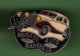 CITROEN TRACTION *** MARSEILLE BRIGADE AUTO *** A027 - Citroën