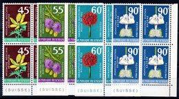 SENEGAL - YT N° 280 à 283 Blocs De 4 Cdf - Neufs ** - MNH - Cote: 26,40 € - Senegal (1960-...)