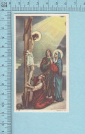 Image Pieuse - Le Christ En Croix, Les Saintes Femmes  - Holy Card, Santini - Devotion Images