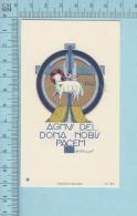 Image Pieuse -GBB , Gold Print Signée, Agnus Dei... - Holy Card, Santini - Images Religieuses