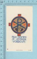 Image Pieuse -GBB, Pax Domini Sit Semper Vabiscum - Holy Card, Santini - Santini