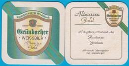 Schlossbrauerei Grünbach Bei Erding Bockhorn - Grünbach( Bd 1652 ) - Beer Mats