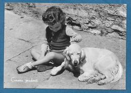 CANI DOG CON BAMBINO 1954 - Dogs