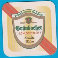 Schlossbrauerei Grünbach Bei Erding Bockhorn - Grünbach( Bd 1653 ) - Beer Mats