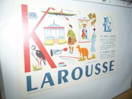 BUVARD-LAROUSSE- MOTS A TROUVER - K - Papeterie