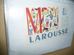 BUVARD  Blotting Paper  LAROUSSE  Lettre M - Stationeries (flat Articles)