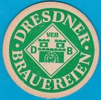 VEB - Dresdner Brauereien Dresden ( Bd 1655 ) - Beer Mats