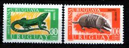 URUGUAY  1970 FAUNA  SET  MNH - Uruguay
