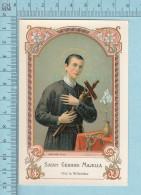 Image Pieuse - St Gerard Majella , Du Sanctuaire De St-Gerard Quebec - Holy Card, Santini - Images Religieuses