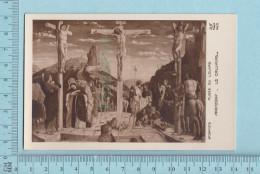 Image Pieuse - CP, Le Calvaire  - Holy Card, Santini - Images Religieuses