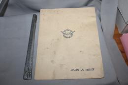 Programme Du Spectacle 1950 Pour Le Comité De Marin Le Meslée - Documents