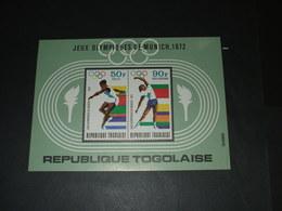 TOGO - BF 1972 GIOCHI MONACO - NUOVO(++) - Togo (1960-...)