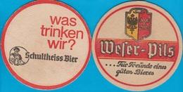 Berliner-Schultheiss-Brauerei Berlin  ( Bd 1658 ) - Beer Mats