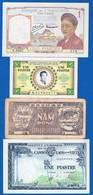 Indochine  4  Billets - Indocina