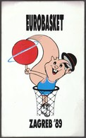 Yugoslavia Croatia Zagreb 1989 / FIBA 26th European Basketball Championship Men / EUROBASKET Zagreb '89 / Sticker - Apparel, Souvenirs & Other
