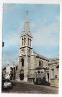 GARCHES  --  L'église -- ( Voitures ,pub  FINA ) - Garches