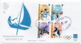 IRAN - OLYMPIC GAMES 2004 FDC / HALTEROPHILIE/WEIGHTLIFTING / WRESTLING / JUDO / TAEKWONDO - Iran